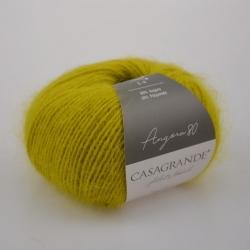 Casagrande Моточная пряжа Angora 80 материал ангора цвет горчица 022