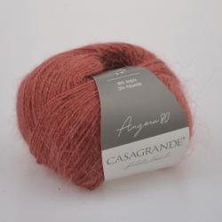 Casagrande Моточная пряжа Angora 80 материал ангора цвет розовая корица 023