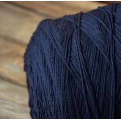 Filati Riccio Пряжа на бобинах Merino материал смесовка цвет темно-синего