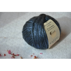 Gazzal Fancy Yarns Моточная пряжа Rock N Roll материал  смесовка цвет синий 13192