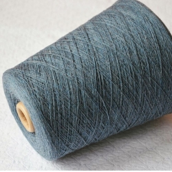 Zegna Baruffa Пряжа на бобинах Geo материал 100% меринос экстрафайн цвет  припыленный серый джинс
