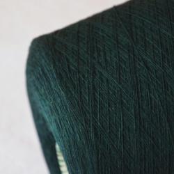 Zegna Baruffa Пряжа на бобинах Geo материал 100% меринос экстрафайн цвет зеленый изумруд