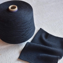 Merino  Пряжа на бобинах Safiella материал меринос  синий