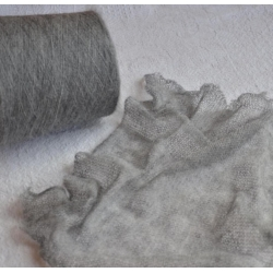 Pecci Filati Пряжа на бобинах Loren материал меринос цвет серый