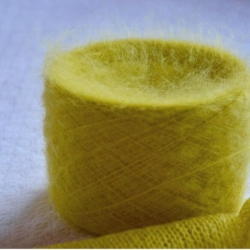 Ecafil Пряжа на бобинах Virginia материал кидмохер цвет  ананас