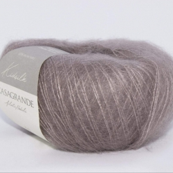 Casagrande Моточная пряжа Kidsilk материал кидмохер, шелк цвет темный тауп