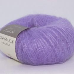 Casagrande Моточная пряжа Kidsilk материал кидмохер, шелк цвет лаванда