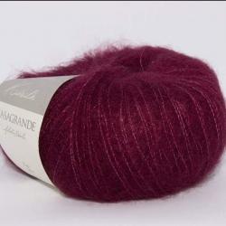 Casagrande Моточная пряжа Kidsilk материал кидмохер, шелк цвет вишня