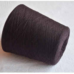Carriagi Пряжа на бобинах Astrakan материал кашемир цвет слива в шоколаде