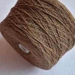 New Mill Пряжа на бобинах Frog материал меринос+хлопок цвет песочный