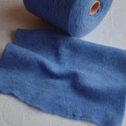Zegna Baruffa Пряжа на бобинах Kent 2/18 материал меринос цвет  голубой