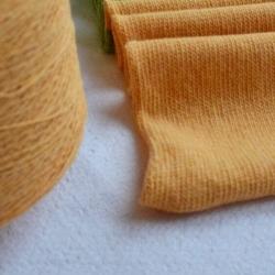 New Mill Пряжа на бобинах Victoria материал меринос цвет манго