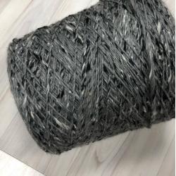 Pecci Filati Пряжа на бобинах Paella материал смесовка цвет  серый