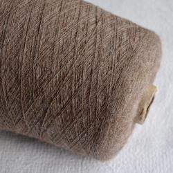 Inca Tops Пряжа на бобинах Suri Yak материал як сури цвет ореховый шоколад меланж