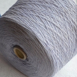 New Mill Пряжа на бобинах Gamma Mouline материал меринос+кашемир цвет светлая сирень