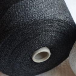 New Mill Пряжа на бобинах Gamma Mouline материал меринос+кашемир цвет графит