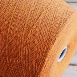 Fil-3 Пряжа на бобинах Stretch материал мериноc+эластан цвет мандарин