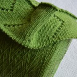 Casa Del Filato Пряжа на бобинах Babywool материал меринос цвет зелень