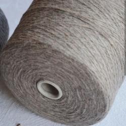 New Mill Пряжа на бобинах Ultra материал меринос+па цвет капучино