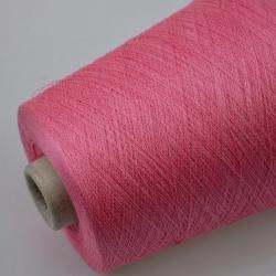 Zegna Baruffa Пряжа на бобинах Kyoto материал хлопок+шелк цвет  розовый