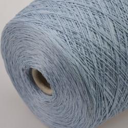 Millefili Пряжа на бобинах Zenu материал лен цвет голубой