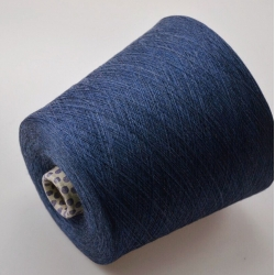 Lana Gatto  Пряжа на бобинах Sublime  материал меринос+кашемир темный джинс меланж