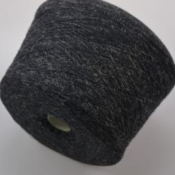 Marco Belli (Италия) Пряжа на бобинах Angora Jarre материал меринос+кашемир цвет антрацит с проседью