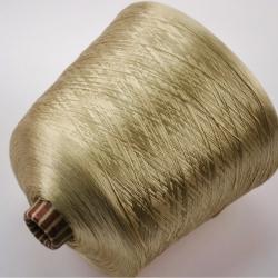 Hasegawa Пряжа на бобинах HKA 2547 материал шелк цвет золото