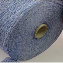 Италия Пряжа на бобинах Lane Chioccarello материал смесовка твид цвет голубой