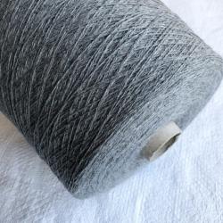 Cariaggi Пряжа на бобинах  Brunello Cucinelli материал кашемир цвет серый меланж