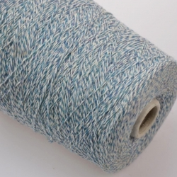 New Mill Пряжа на бобинах Magreb материал меринос цвет  сине-голубой