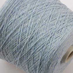 New Mill Пряжа на бобинах Magreb материал меринос цвет  голубой мулине