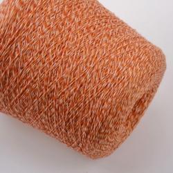 New Mill Пряжа на бобинах Magreb материал меринос цвет  терракот с лососевым