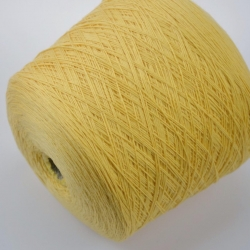 Zegna Baruffa Пряжа на бобинах Myfil материал меринос цвет  желтая ваниль