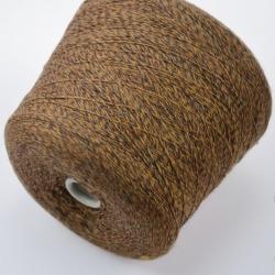 Texwell Пряжа на бобинах Basento Jasper материал меринос цвет каштан с золотом