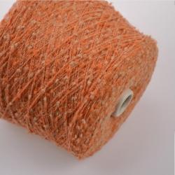 Fashion Mill Пряжа на бобинах Fiocco материал меринос+акрил цвет манго
