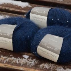 Casagrande Моточная пряжа Angora 80 материал ангора цвет темно-синий