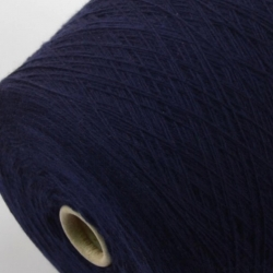 Loro Piana Пряжа на бобинах Cablelight материал кашемир цвет  темно-синий