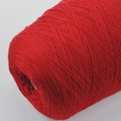 Pecci Filati Пряжа на бобинах Granito материал меринос цвет красный