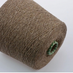 Filati Buratti Пряжа на бобинах Silk материал шелк +меринос цвет  капучино