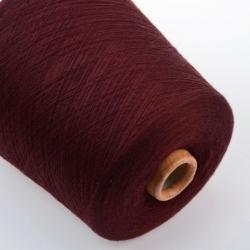 Botto Poala   Пряжа на бобинах Labrador материал меринос  цвет вино коньячного