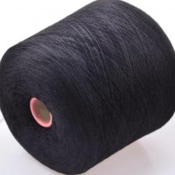 Botto Poala Пряжа на бобинах Perla материал меринос+шелк цвет черный