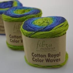 Fibranatura Моточная пряжа Cotton Royal материал  хлопок цвет мултиколор 22-10