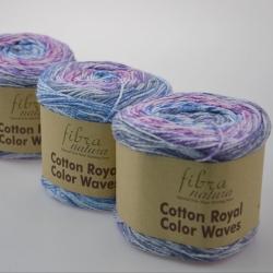 Fibranatura Моточная пряжа Cotton Royal материал  хлопок цвет мултиколор 22-04