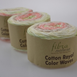 Fibranatura Моточная пряжа Cotton Royal материал  хлопок цвет мултиколор 22-02