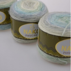 Nako Моточная пряжа Peru Color материал  смесовка цвет мултиколор 32184
