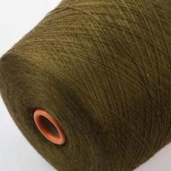 Zegna Baruffa   Пряжа на бобинах Nanchino  материал меринос+шелк  цвет бронзы