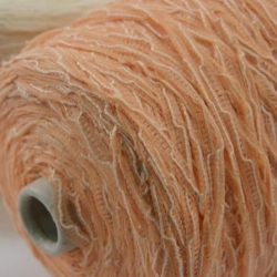 Gruppo Filpucci Пряжа на бобинах Bondage материал лен+вискоза цвет абрикос