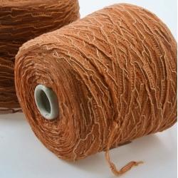 Gruppo Filpucci Пряжа на бобинах Bondage материал лен+вискоза цвет медовая корица