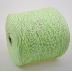 Fashion Mill Пряжа на бобинах Fluo материал хлопок+полиамид цвет салатный
